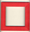 Holiday Red 6x6 Frame