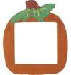 Orange Pumpkin Frame