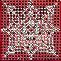 Lace Snowflake with Ort Box
