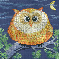 Cross Stitch Critters - Owl