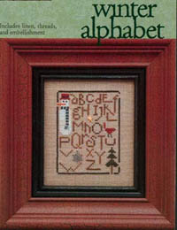 Winter Alphabet Kit