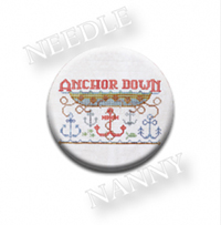 Anchor Down Stitch Dot by Hands On Design