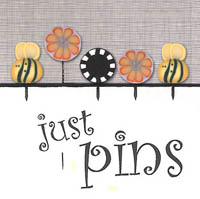 Just Pins - Bees & Blossoms