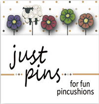 Just Pins - Shepherd's Wildflowers