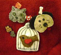 Pet Friendly Pin-it Ornament