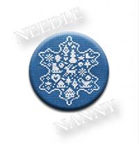 Snowflake Needle Needle Nanny by JBW Designs