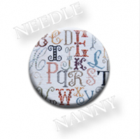 Alphabet Needle Nanny by Jeanette Douglas Designs