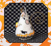 Candy Corn Ghost Mouse Limited Edition