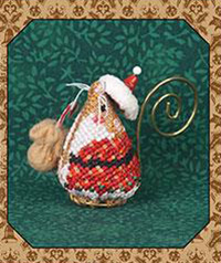 Gingerbread Santa Mouse LIMITED EDITION