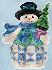 Evergreen Snowman Kit