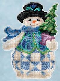 Evergreen Snowman Kit