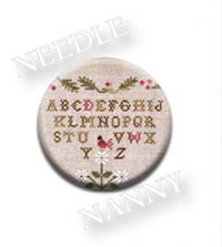 ABC Sampler Nanny by Little House Needlework