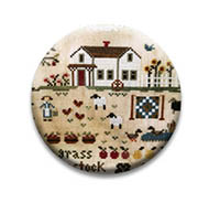 Farm Life White House Needle Nanny from Little House Needlework