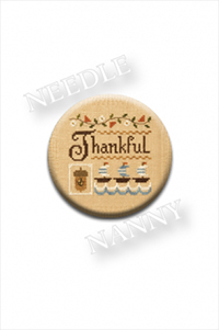 A Little Thankful Stitch Dot by Lizzie Kate