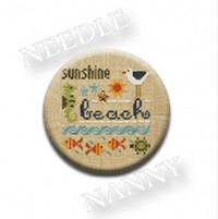 Beach Stitch Dot by Lizzie Kate