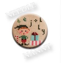 Be Jolly Stitch Dot by Lizzie Kate