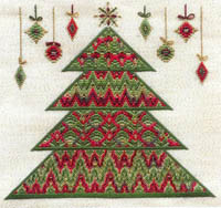 Bargello Christmas Tree
