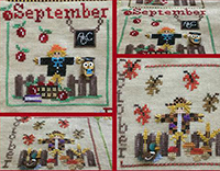 A Year with Scarecrows - September & October