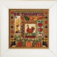 2007 Autumn Button & Bead-Be Thankful