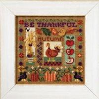 2007 Autumn Button & Bead-Be Thankful