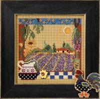 2007 Autumn Button & Bead-Lavender Fields