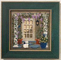 2006 Spring Button & Bead-Wisteria Welcome