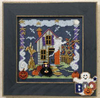 2006 Autumn Button & Bead-Boo House