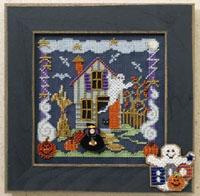2006 Autumn Button & Bead-Boo House