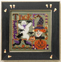 2006 Autumn Button & Bead-Trick or Treat Collage