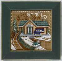 2006 Christmas Village Button & Bead - Train Depot
