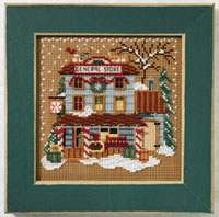2007 Christmas Village Button & Bead - General Store