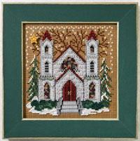 2007 Christmas Village Button & Bead-St. Nicholas - Christmas Village