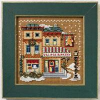 2007 Christmas Village Button & Bead-Village Bakery - Christmas Village