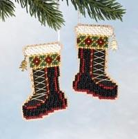 2006 Santa's Closet Ornaments -Santa's Boots
