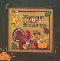 1996 Autumn Button & Bead -  Harvest Blessing