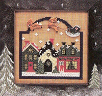 1995 Winter Button & Bead -  Christmas Village