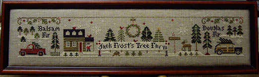 SHOP MODEL - JACK FROST'S TREE FARM