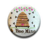 Be Mine Needle Nanny from Needle Bling Designs