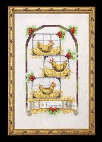 12 Days - Three French Hens
