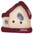 nh1005 Red Roof Birdhouse - Just Another Button Co