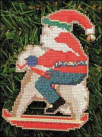 Old Time Santa Kit - Rocking Horse Santa