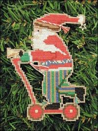Old Time Santa Kit - Scooter Santa