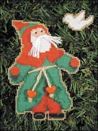 Old Time Santa Kit - Dove Santa