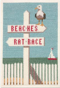 Beaches/Rat Race Kit - The Coastal Collection Original artwork by Joel Anderson