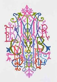 Alphabet Quilt Monogram Kit