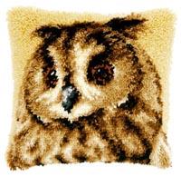 Brown Owl Pillow
