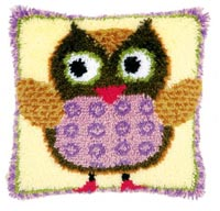 Miss. Owl Pillow