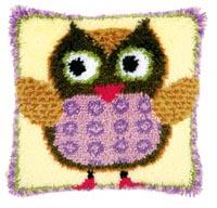 Miss. Owl Pillow