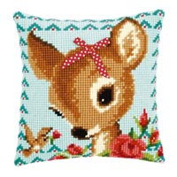 Bambi with a Bow Pillow Kit