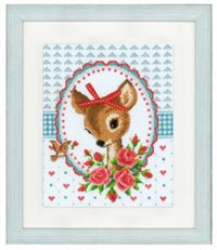 Bambi and Roses Kit